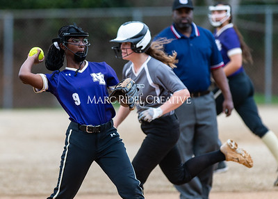 Broughton softball vs East Chapel Hill. March 11, 2020. D4S_8396