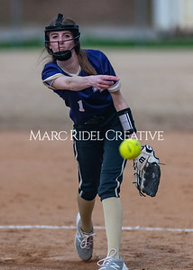 Broughton softball vs East Chapel Hill. March 11, 2020. D4S_8320
