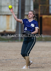 Broughton softball vs East Chapel Hill. March 11, 2020. D4S_8314