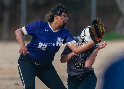 Broughton softball vs East Chapel Hill. March 11, 2020. D4S_8317