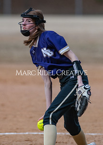 Broughton softball vs East Chapel Hill. March 11, 2020. D4S_8326