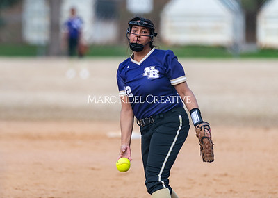 Broughton softball vs East Chapel Hill. March 11, 2020. D4S_8362