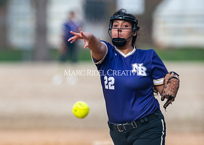 Broughton softball vs East Chapel Hill. March 11, 2020. D4S_8377