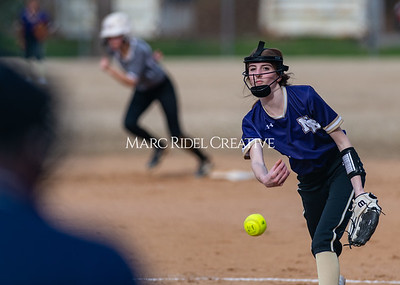Broughton softball vs East Chapel Hill. March 11, 2020. D4S_8306