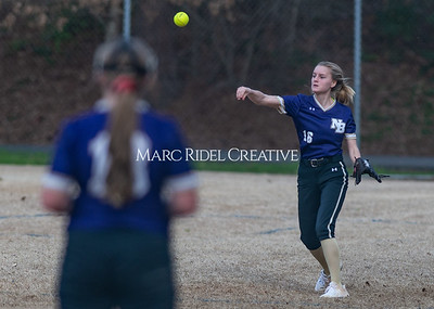 Broughton softball vs East Chapel Hill. March 11, 2020. D4S_8324