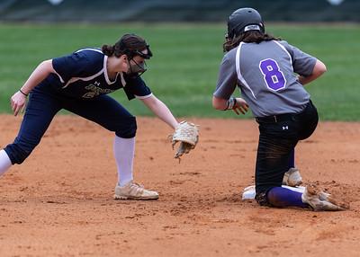 Broughton softball vs Leesville. March 25, 2021