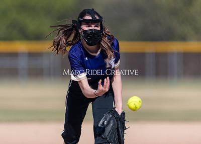 Broughton softball vs Millbrook. April 6, 2021