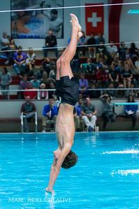 Broughton Men's Diving. December 1, 2017.