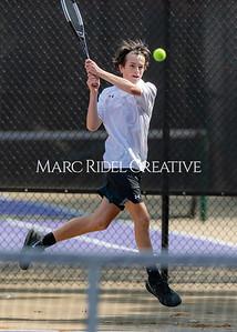 Broughton tennis vs Enloe. April 21, 2021