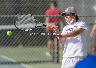 Broughton tennis vs Sanderson. April 7, 2021