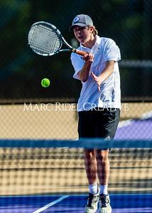 Broughton tennis vs Sanderson. April 26, 2021