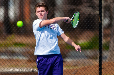 Broughton tennis vs. Athens Drive. March 22, 2018.