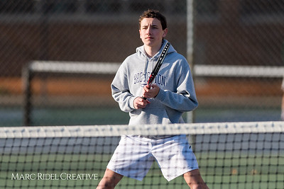 Broughton tennis vs. Cardinal Gibbons. March 13, 2018,.