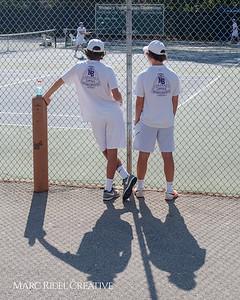 Broughton tennis vs. Leesville. April 10, 2018