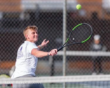 Broughton tennis vs. Leesville. March 8, 2018