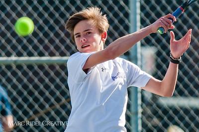 Broughton tennis vs. Millbrook. March 23, 2018.