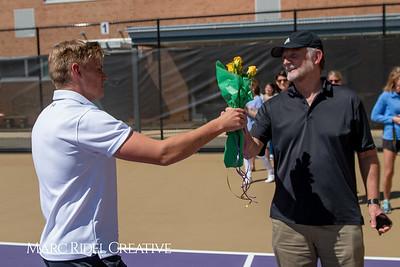 Tennis Senior Night. April 10, 2019. D4S_5015