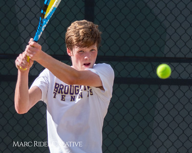 Broughton tennis vs Cardinal Gibbons. May 13, 2019. MRC_8394