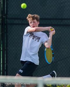 Broughton tennis vs Cardinal Gibbons. May 13, 2019. MRC_8402