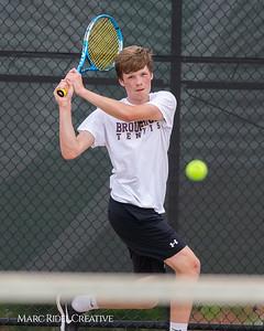 Broughton tennis vs Cardinal Gibbons. May 13, 2019. MRC_8217