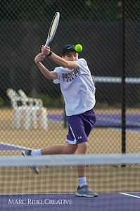 Broughton tennis vs Leesville, March 7, 2019. D4S_4468