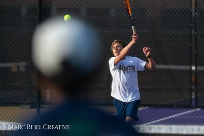 Broughton tennis vs Leesville, March 7, 2019. D4S_4383