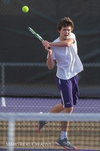Broughton tennis vs Leesville, March 7, 2019. D4S_4449