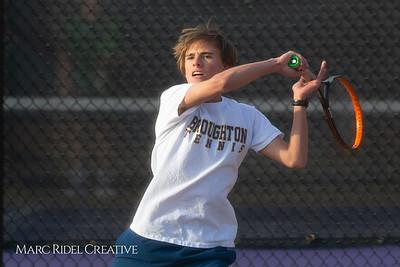 Broughton tennis vs Leesville, March 7, 2019. D4S_4405