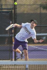 Broughton tennis vs Leesville, March 7, 2019. D4S_4458