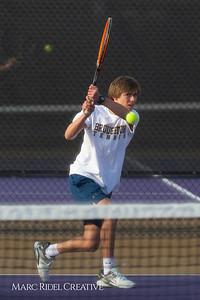 Broughton tennis vs Leesville, March 7, 2019. D4S_4410