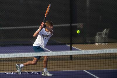 Broughton tennis vs Leesville, March 7, 2019. D4S_4414