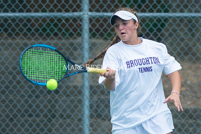Broughton varsity tennis vs Sanderson. September 26, 2019. D4S_9791