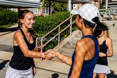Broughton tennis vs Apex Friendship. Dual playoffs.. October 17, 2019. D4S_3282