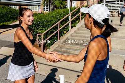 Broughton tennis vs Apex Friendship. Dual playoffs.. October 17, 2019. D4S_3281