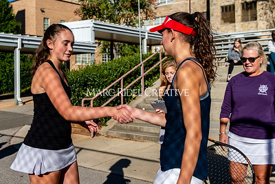 Broughton tennis vs Apex Friendship. Dual playoffs.. October 17, 2019. D4S_3300
