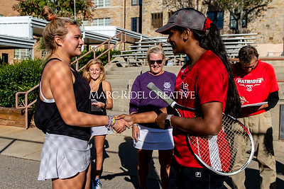 Broughton tennis vs Apex Friendship. Dual playoffs.. October 17, 2019. D4S_3307