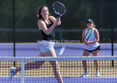 Broughton Lady Caps tennis vs Enloe. May 5, 2021