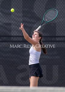 Broughton Lady Caps JV tennis at Cardinal Gibbons and varsity vs Millbrook. May 18, 2021