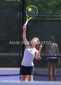Broughton JV tennis vs Leesville. May 6, 2021