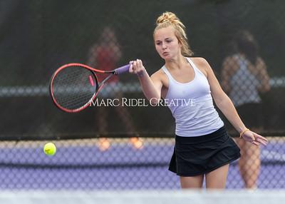 Broughton JV tennis vs Sanderson. May 26, 2021