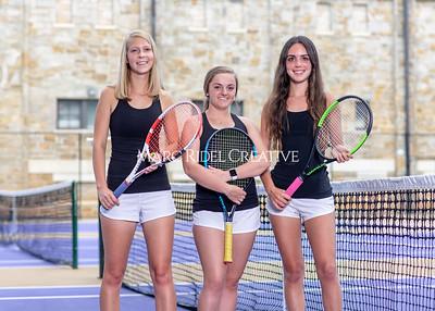 Broughton tennis seniors photoshoot. May 22, 2021