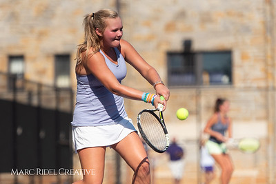 Broughton tennis vs. Cardinal Gibbons. August 29, 2018.