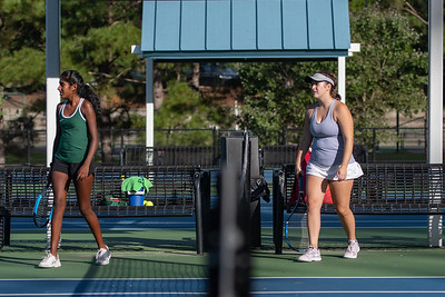 Broughton tennis vs Green Hope. October 17, 2018.