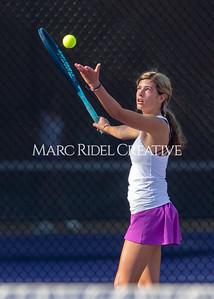Broughton JV tennis vs East Chapel Hill. August 26, 2021