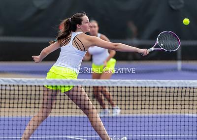 Broughton varsity tennis vs Cardinal Gibbons. September 15, 2021.
