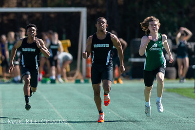 Broughton track and field at Cardinal Gibbons. March 27, 2019. D4S_5657