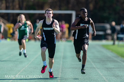 Broughton track and field at Cardinal Gibbons. March 27, 2019. D4S_5677