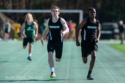 Broughton track and field at Cardinal Gibbons. March 27, 2019. D4S_5678