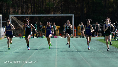 Broughton track and field at Cardinal Gibbons. March 27, 2019. D4S_5622