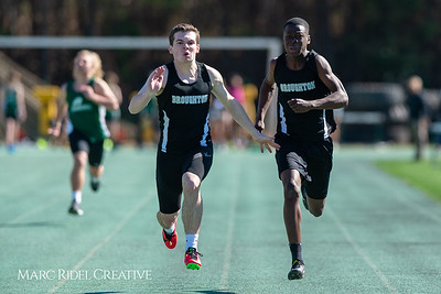 Broughton track and field at Cardinal Gibbons. March 27, 2019. D4S_5680